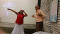 Hernan & Aida, Pastors of New Birth church - tonight's meeting for us