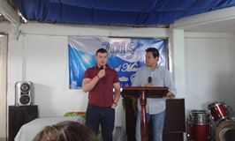 Peter preaching in Alto Napoles
