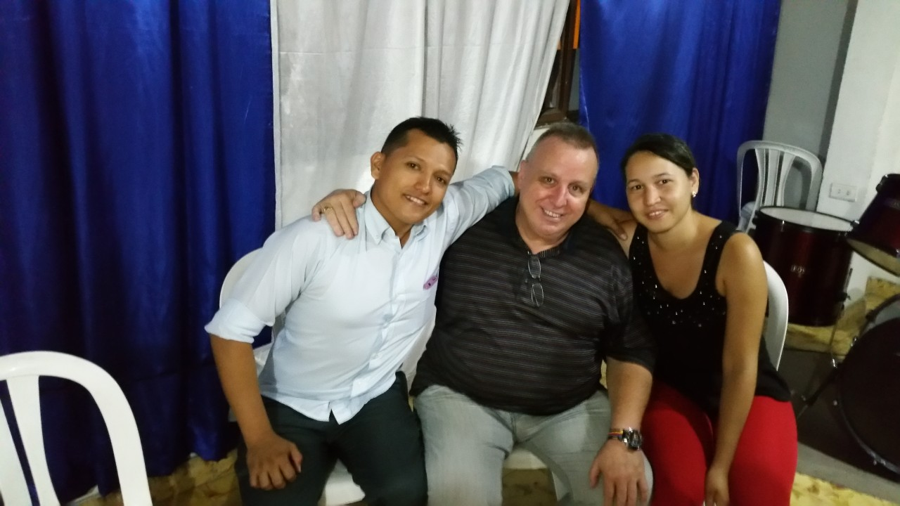 Mauricio and Sandra, pastors of Vison and Revival church