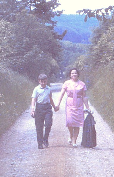 Paul & mum Friston 1965