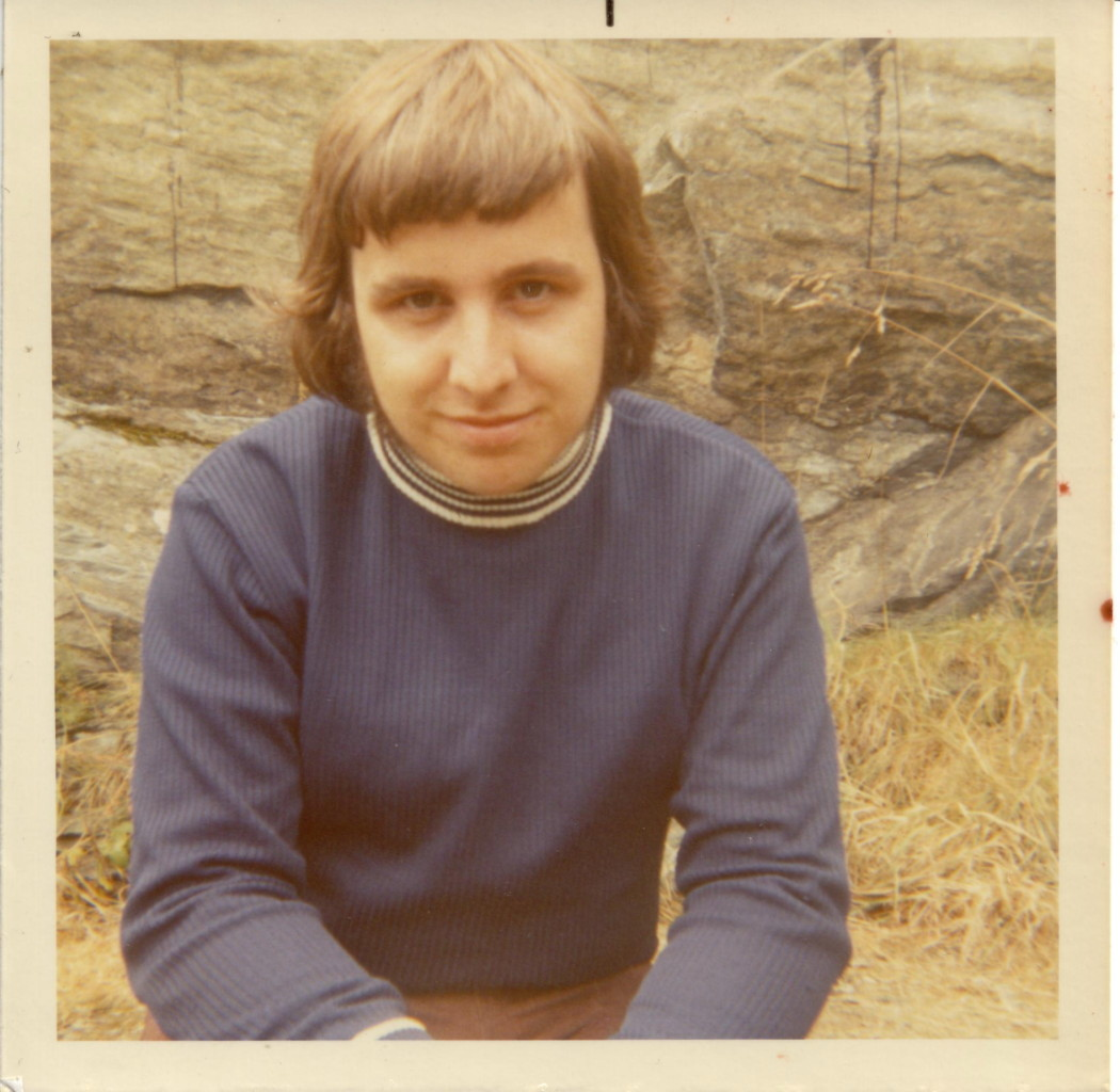 Hmm...probably 1970 - no sign of hair loss there....